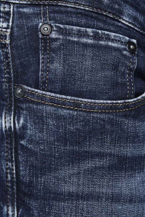 JACK & JONES JEANS INTELLIGENC Jeans slim denim 12133074_BLUE DENIM img4