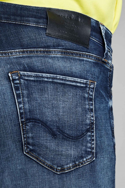 JACK & JONES JEANS INTELLIGENC Jeans slim denim 12133074_BLUE DENIM img7