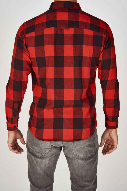 ORIGINALS BY JACK & JONES Chemises (manches longues) rouge 12138283_FIERY RED img2