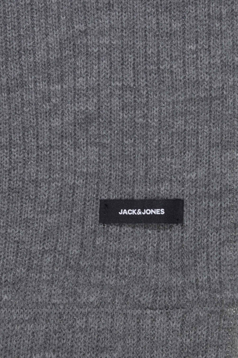 ACCESSORIES BY JACK & JONES Echarpes gris 12138756_GREY MELANGE img3