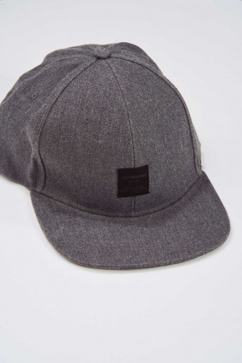 ACCESSORIES BY JACK & JONES Petten grijs 12138987_GREY MELANGE img1