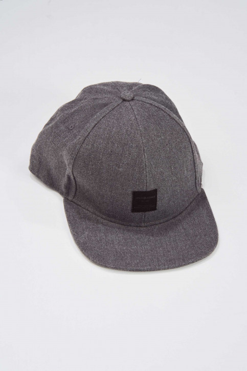 ACCESSORIES BY JACK & JONES Petten grijs 12138987_GREY MELANGE img2