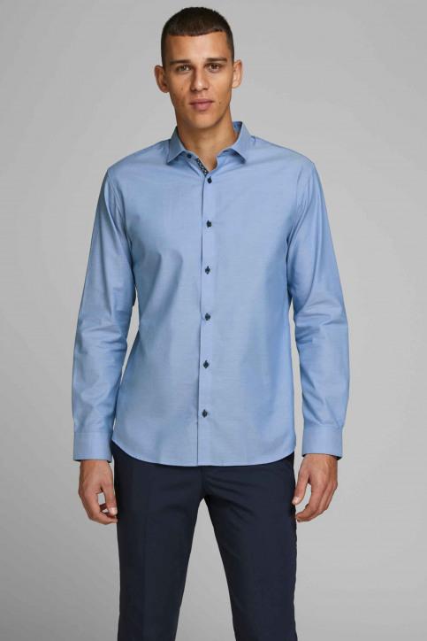 PREMIUM by JACK & JONES Hemden (lange mouwen) blauw 12139573_CASHMERE BLUE S img1