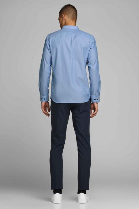 PREMIUM by JACK & JONES Hemden (lange mouwen) blauw 12139573_CASHMERE BLUE S img3