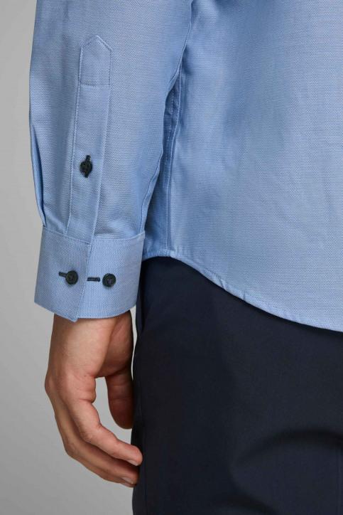 PREMIUM by JACK & JONES Hemden (lange mouwen) blauw 12139573_CASHMERE BLUE S img5