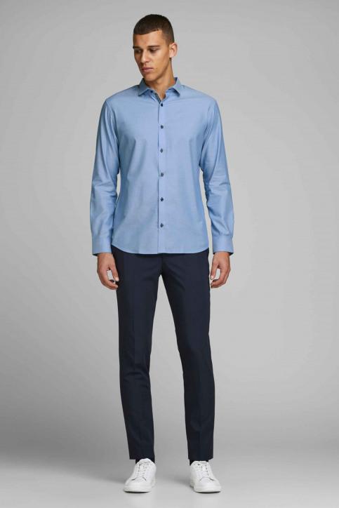 PREMIUM by JACK & JONES Hemden (lange mouwen) blauw 12139573_CASHMERE BLUE S img6