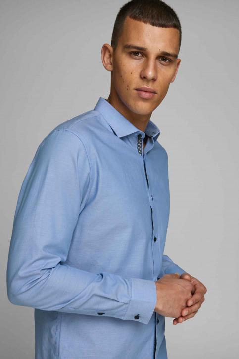 PREMIUM by JACK & JONES Hemden (lange mouwen) blauw 12139573_CASHMERE BLUE S img7