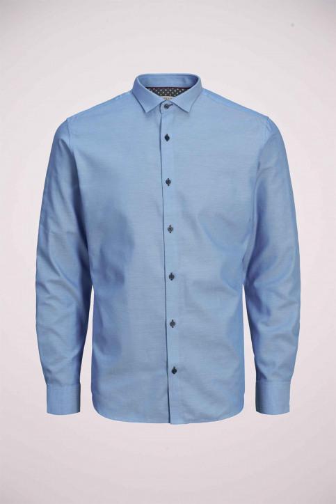 PREMIUM by JACK & JONES Hemden (lange mouwen) blauw 12139573_CASHMERE BLUE S img8