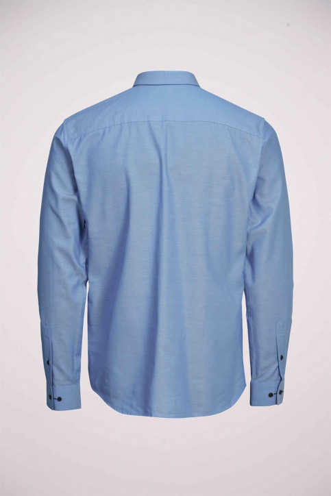 PREMIUM by JACK & JONES Hemden (lange mouwen) blauw 12139573_CASHMERE BLUE S img9