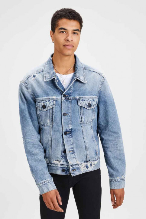 JACK & JONES JEANS INTELLIGENC Jassen (jeans) denim 12139864_BLUE DENIM img1
