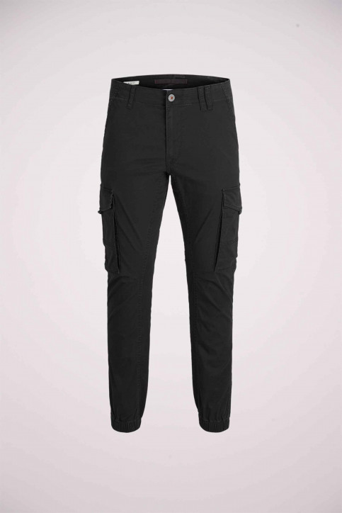JACK & JONES JEANS INTELLIGENC Broeken zwart 12139912_BLACK img1