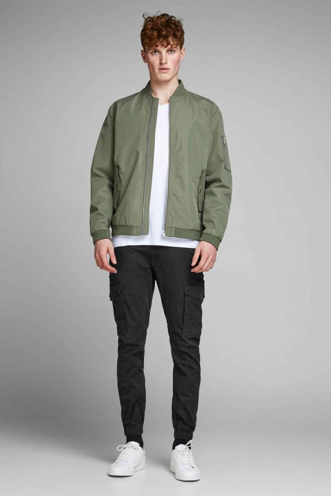 JACK & JONES JEANS INTELLIGENC Broeken zwart 12139912_BLACK img2
