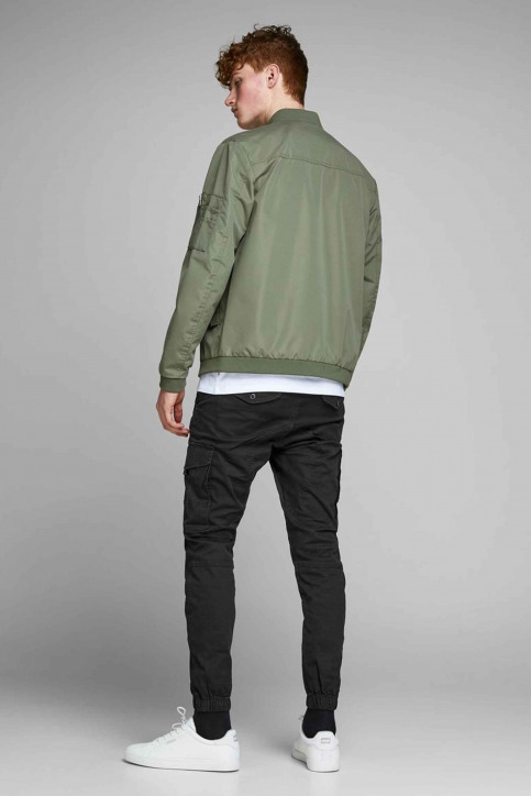 JACK & JONES JEANS INTELLIGENC Broeken zwart 12139912_BLACK img5