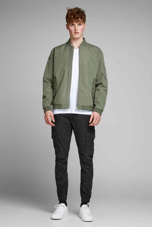JACK & JONES JEANS INTELLIGENC Broeken zwart 12139912_BLACK img6