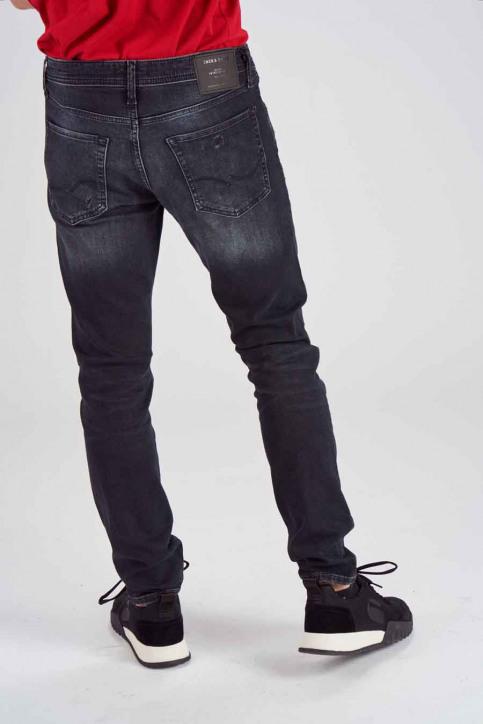 JACK & JONES JEANS INTELLIGENC Jeans slim 12140467_BLACK DENIM img3