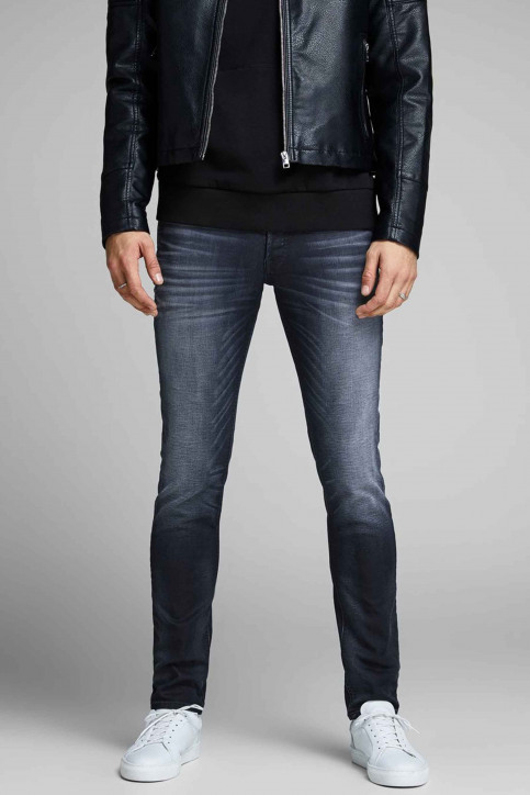 JACK & JONES JEANS INTELLIGENCE Jeans slim denim 12140584_BLUE DENIM img4