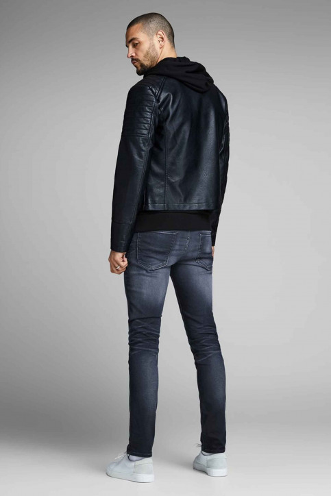 JACK & JONES JEANS INTELLIGENCE Jeans slim denim 12140584_BLUE DENIM img5