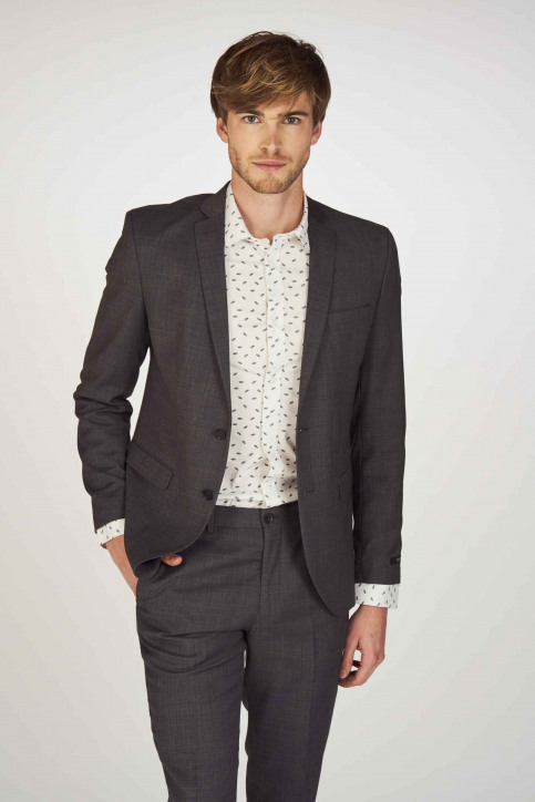 PREMIUM BY JACK & JONES Blazers gris 12141107_DARK GREY img1