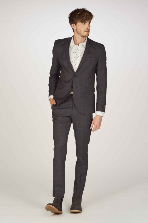 PREMIUM BY JACK & JONES Blazers gris 12141107_DARK GREY img2
