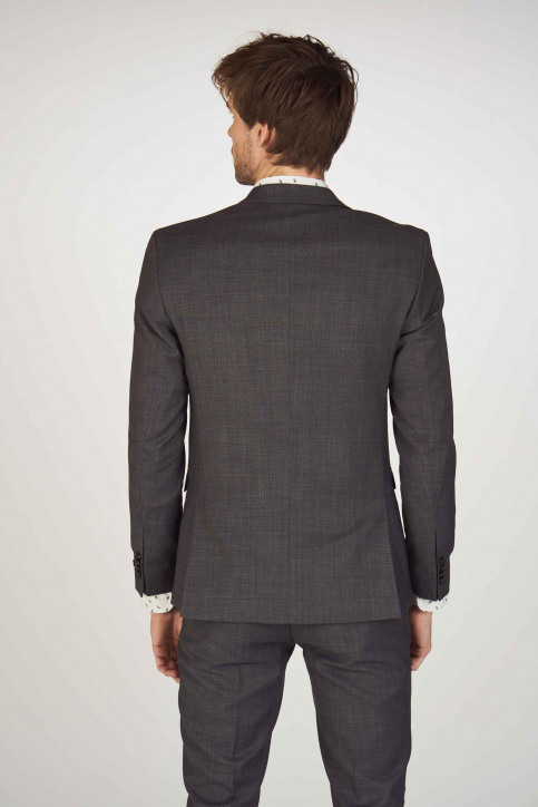 PREMIUM BY JACK & JONES Blazers gris 12141107_DARK GREY img3