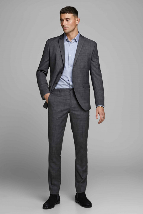 PREMIUM BY JACK & JONES Pantalons de costume gris 12141112_DARK GREY img6