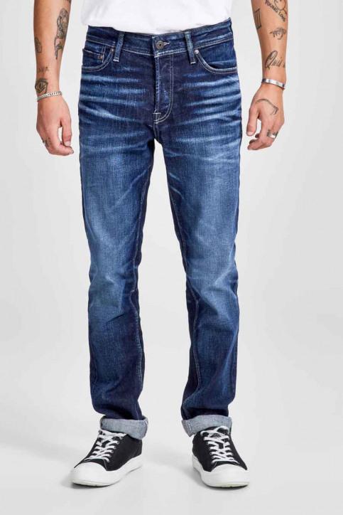JACK & JONES JEANS INTELLIGENC Jeans slim denim 12141767_BLUE DENIM img1