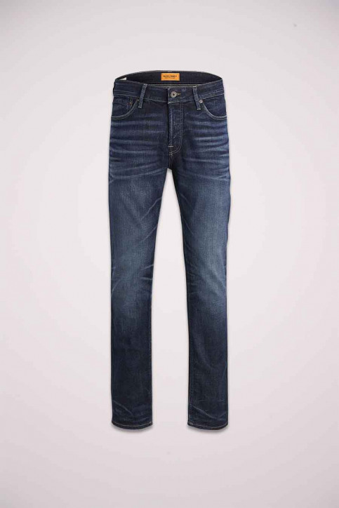 JACK & JONES JEANS INTELLIGENC Jeans slim denim 12141767_BLUE DENIM img7