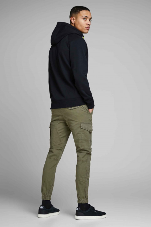 JACK & JONES JEANS INTELLIGENCE Broeken OLIVE 12141844_OLIVE NIGHT img3
