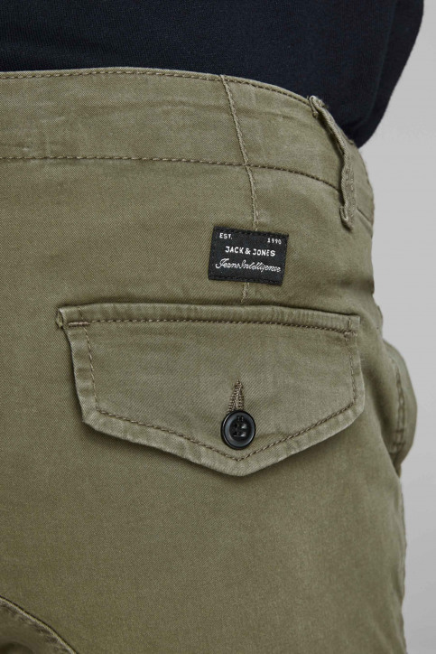 JACK & JONES JEANS INTELLIGENCE Broeken OLIVE 12141844_OLIVE NIGHT img5