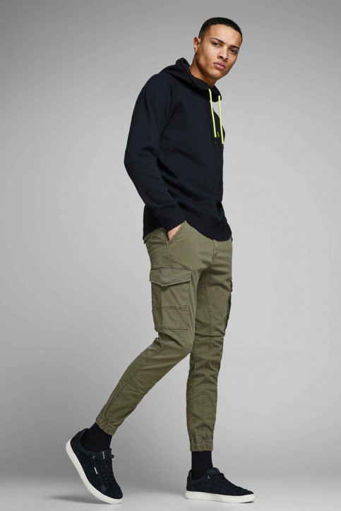 JACK & JONES JEANS INTELLIGENCE Broeken OLIVE 12141844_OLIVE NIGHT img6
