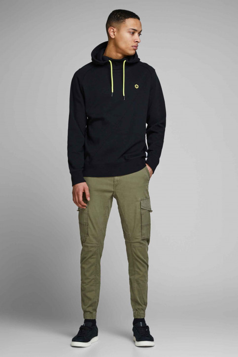 JACK & JONES JEANS INTELLIGENCE Broeken OLIVE 12141844_OLIVE NIGHT img7