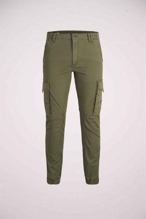 JACK & JONES JEANS INTELLIGENCE Broeken OLIVE 12141844_OLIVE NIGHT img8