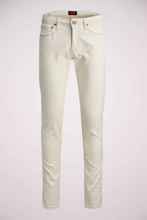 JACK & JONES JEANS INTELLIGENC Jeans slim 12142624_WHITE DENIM img5