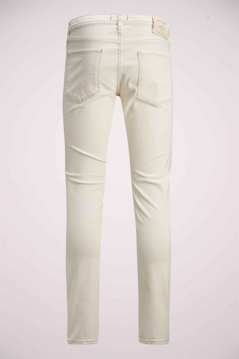 JACK & JONES JEANS INTELLIGENC Jeans slim 12142624_WHITE DENIM img6