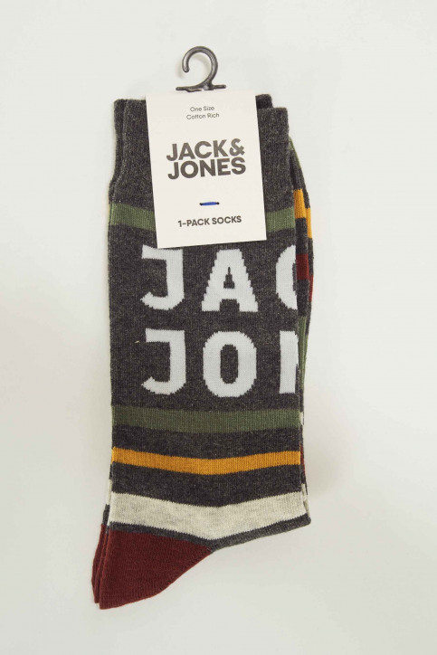 ACCESSORIES BY JACK & JONES Sokken 12146815_DARK GREY MELAN img3