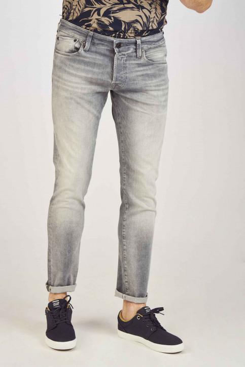 JACK & JONES JEANS INTELLIGENCE Jeans slim grijs 12147024_GREY DENIM img1