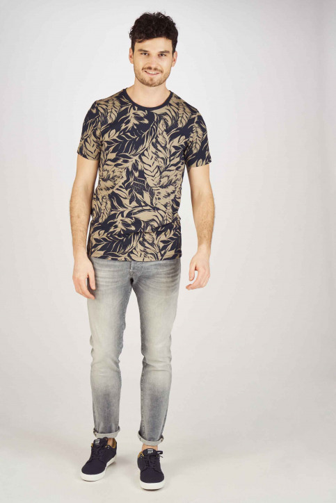 JACK & JONES JEANS INTELLIGENCE Jeans slim grijs 12147024_GREY DENIM img2