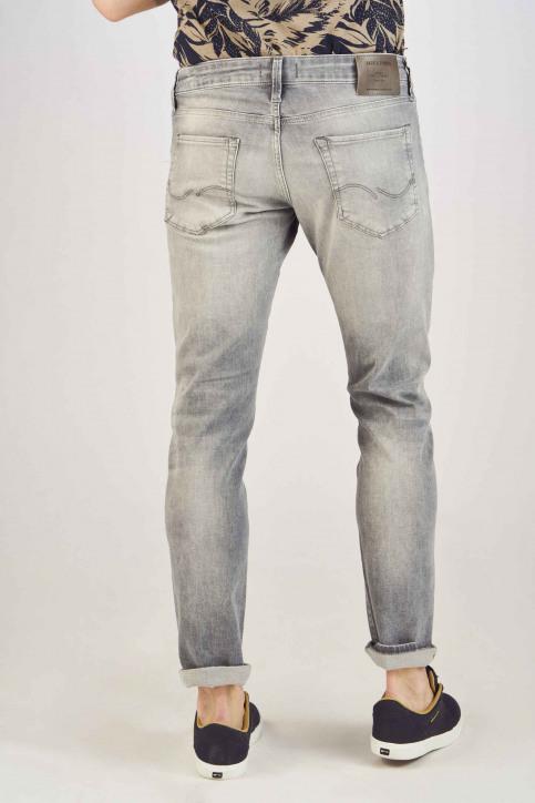 JACK & JONES JEANS INTELLIGENCE Jeans slim grijs 12147024_GREY DENIM img3