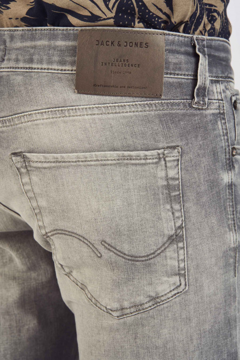 JACK & JONES JEANS INTELLIGENCE Jeans slim grijs 12147024_GREY DENIM img5