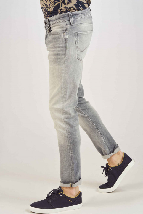JACK & JONES JEANS INTELLIGENCE Jeans slim grijs 12147024_GREY DENIM img6