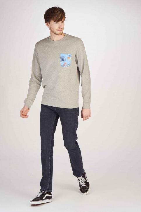ORIGINALS BY JACK & JONES Sweaters met ronde hals grijs 12147398_LIGHT GREY MELA img2