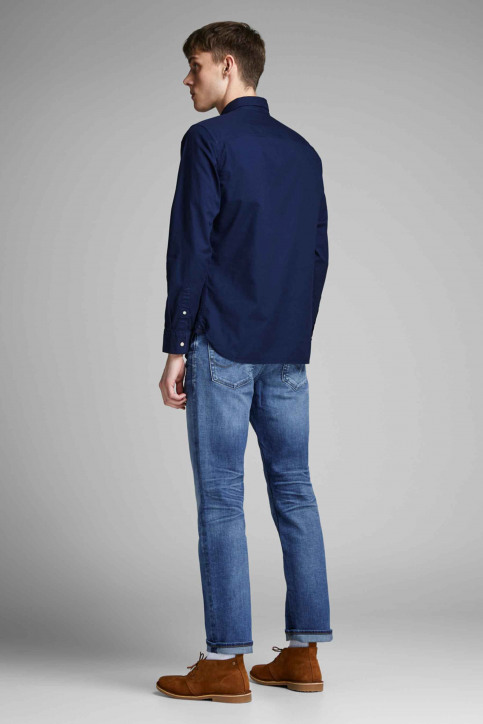 JACK & JONES JEANS INTELLIGENCE Jeans straight denim 12148235_BLUE DENIM img3