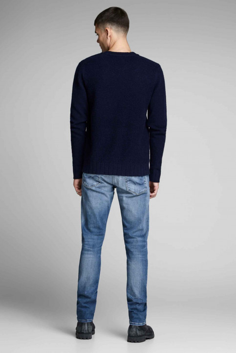 JACK & JONES JEANS INTELLIGENC Jeans slim denim 12148275_BLUE DENIM img2