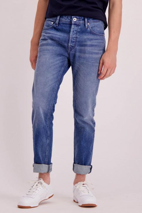 JACK & JONES JEANS INTELLIGENC Jeans slim denim 12148532_JOS933BLUE DEN img1