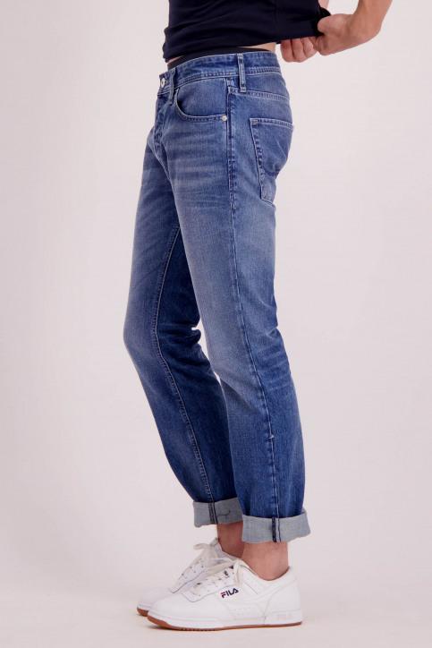 JACK & JONES JEANS INTELLIGENC Jeans slim denim 12148532_JOS933BLUE DEN img4