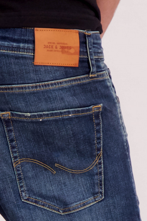 JACK & JONES JEANS INTELLIGENC Jeans slim denim 12148533_JOS976BLUE DEN img5