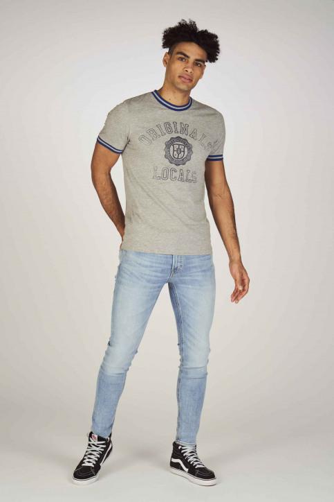 JACK & JONES JEANS INTELLIGENC Jeans skinny denim 12149678_BLUE DENIM img2