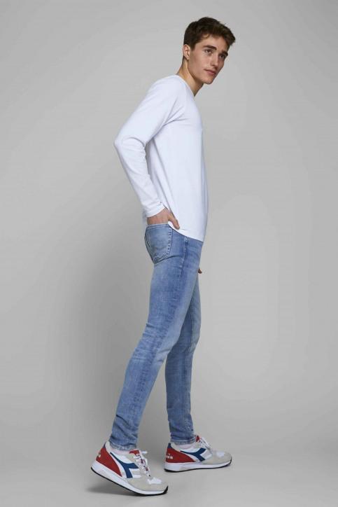 JACK & JONES JEANS INTELLIGENC Jeans skinny denim 12149678_BLUE DENIM img7