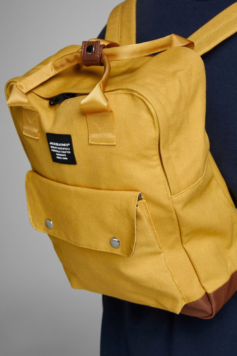ACCESSORIES BY JACK & JONES Sacs à dos jaune 12149818_YOLK YELLOW img2
