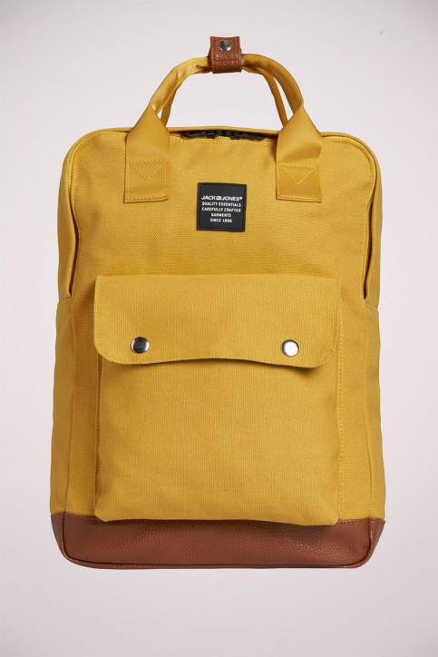 ACCESSORIES BY JACK & JONES Sacs à dos jaune 12149818_YOLK YELLOW img4